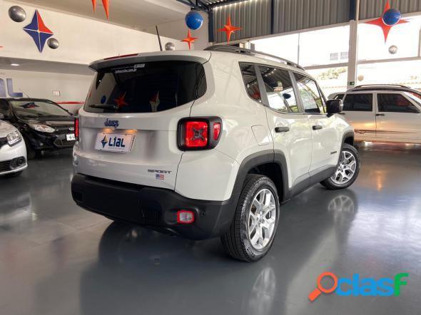 Jeep renegade sport 1.8 4x2 flex 16v aut. branco 2018 1.8 flex