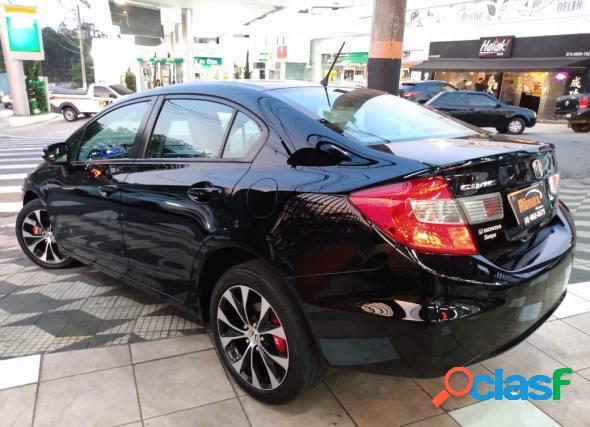Honda civic sedan lxr 2.0 flexone 16v aut. 4p preto 2016 2.0 flex