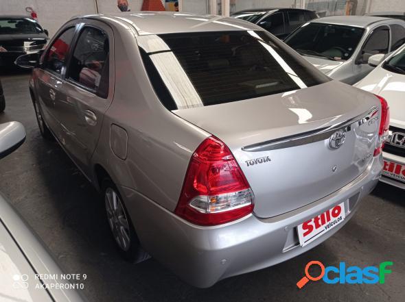 Toyota etios xls 1.5 flex 5p aut. prata 2017 1.5 flex