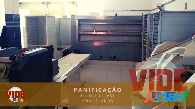 Jacareí: distribuidora/fábrica de pães e produtos de panificação congelados