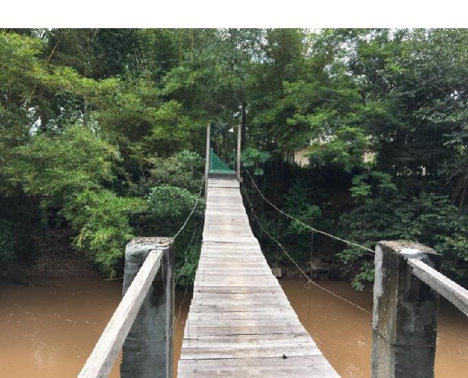 Chácara para pesca e lazer no distrito da guia