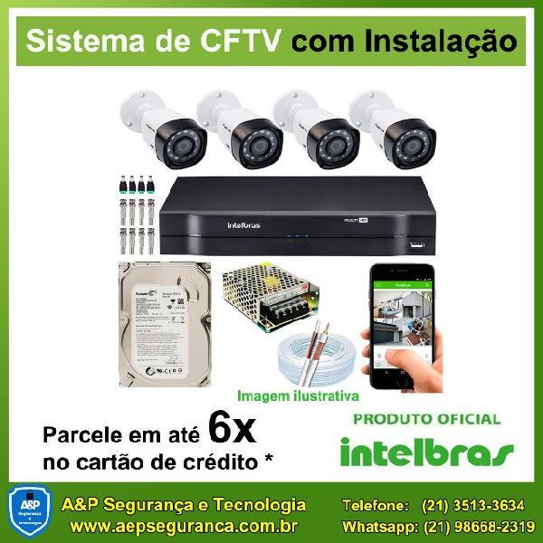 Câmeras de segurança cftv intelbras a partir de r$