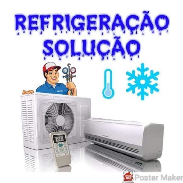 Conserto de geladeiras e ar condicionado/ refrigeração em