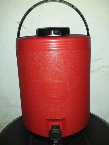 Galao térmico 15 litros vermelho