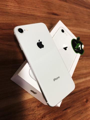 Iphone 8 branco > perfeito de mais!