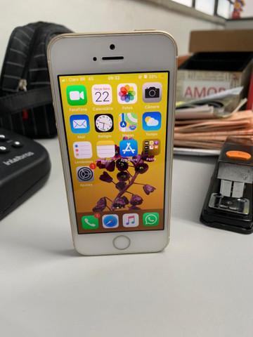 Iphone se 128gb perfeito somente troco