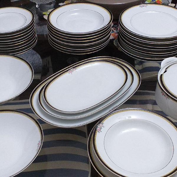 Jogo de jantar porcelana real