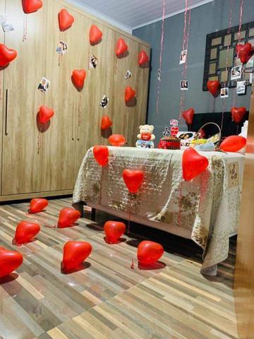 Kit romantico. surpresa romantica.caixa explosao