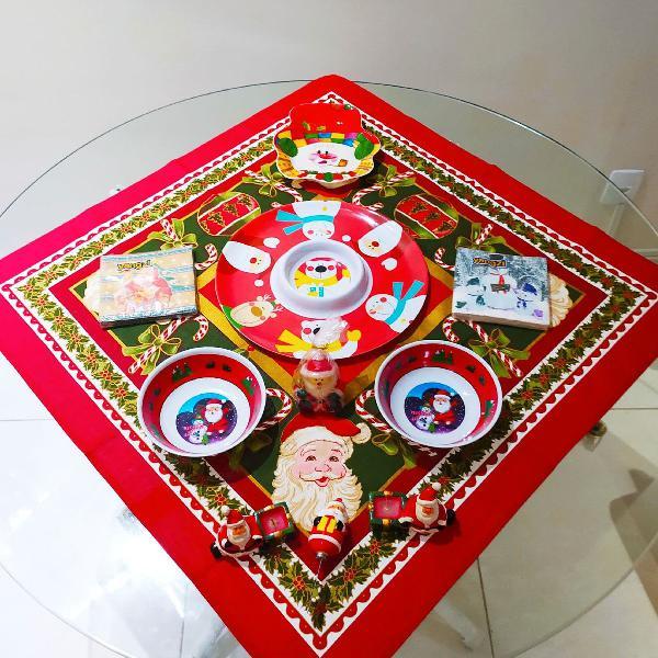Mesa natal decorada ! ( 11 peças )