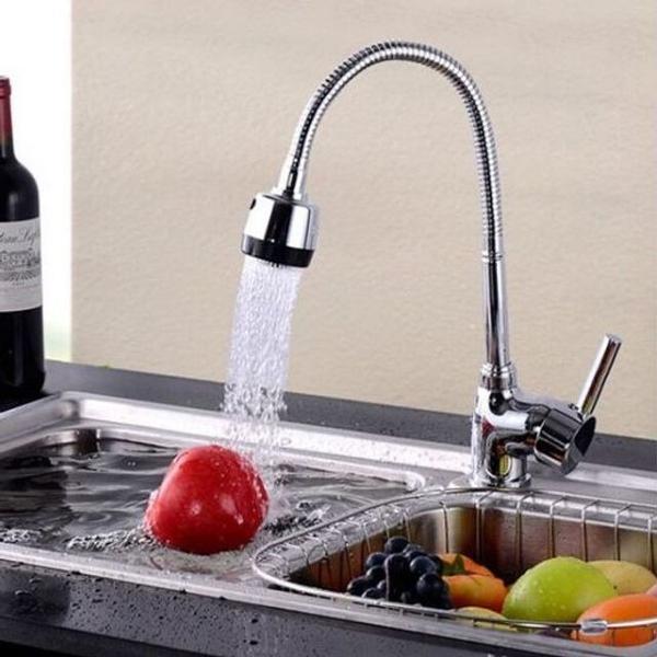 Monocomando torneira cozinha com ducha regulável gourmet