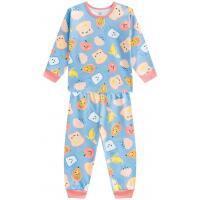 Pijama Infantil Brandili Em Malha Estampado Feminino <div