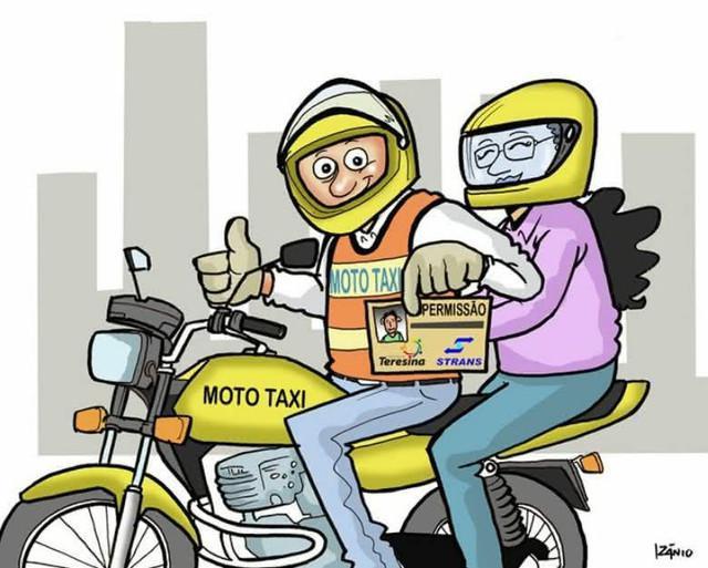 Prestação de serviços moto taxi