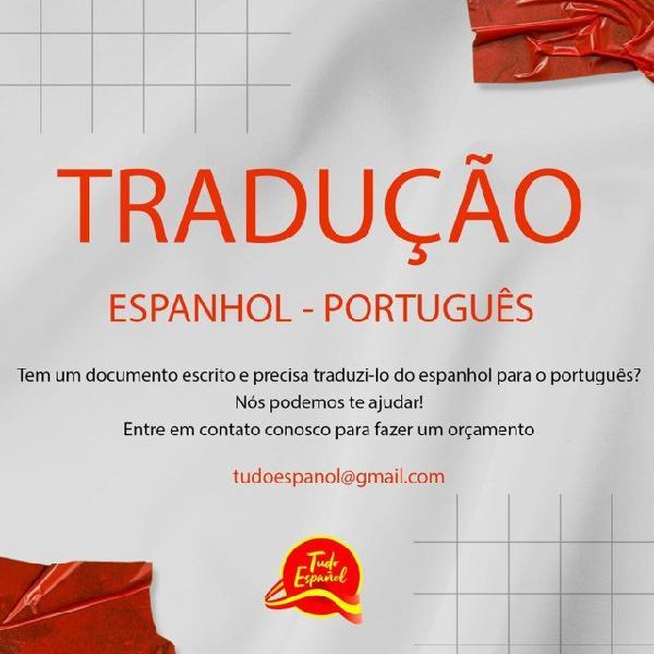 Tradução espanhol/ português