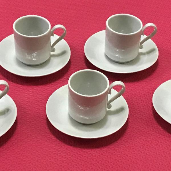 Conjunto de xícara de café marca verbano