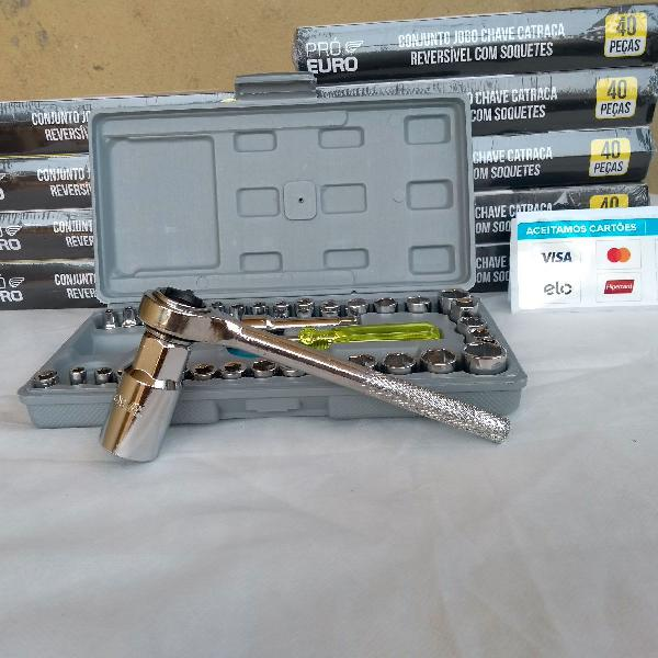 Kit jogo de chave soquete sextavado
