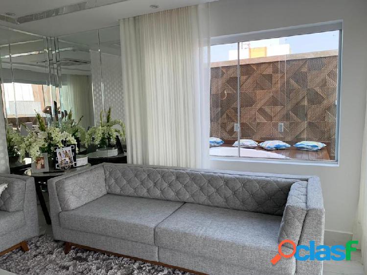 Cobertura duplex à venda no residencial mundi