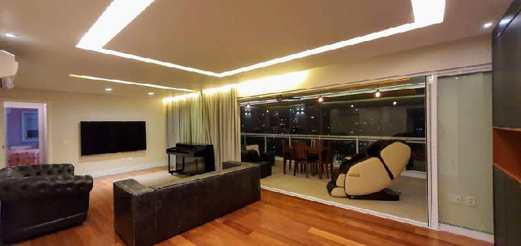 Apartamento alto padrão com 159 m² com 3 suítes por