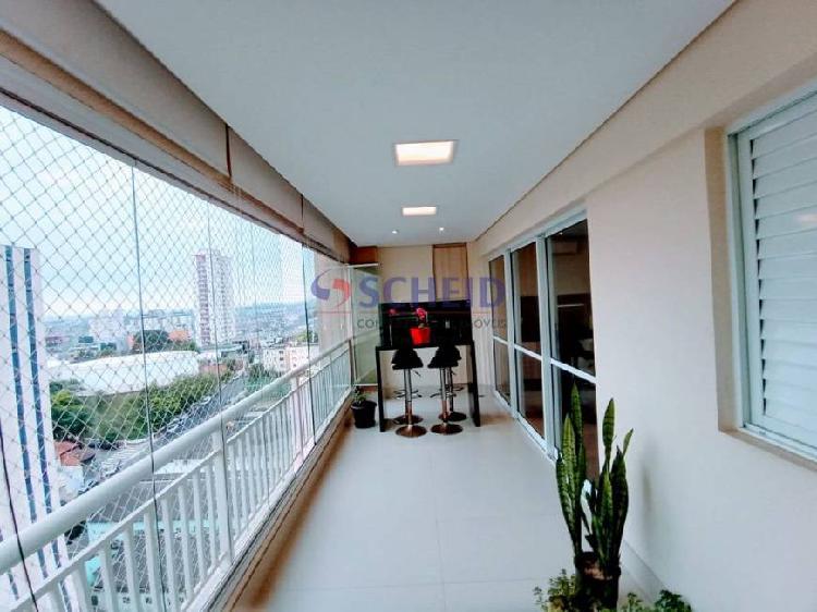 Apartamento com três suites na vila mascote
