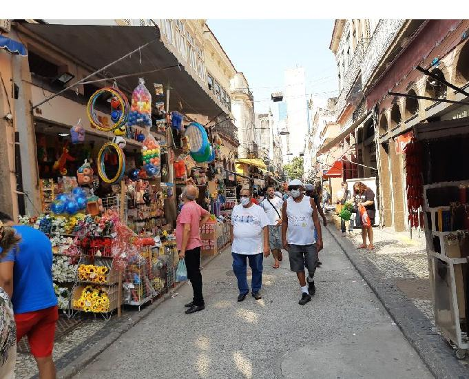 Passo loja 260m² - saara - rua senhor dos passos - rj