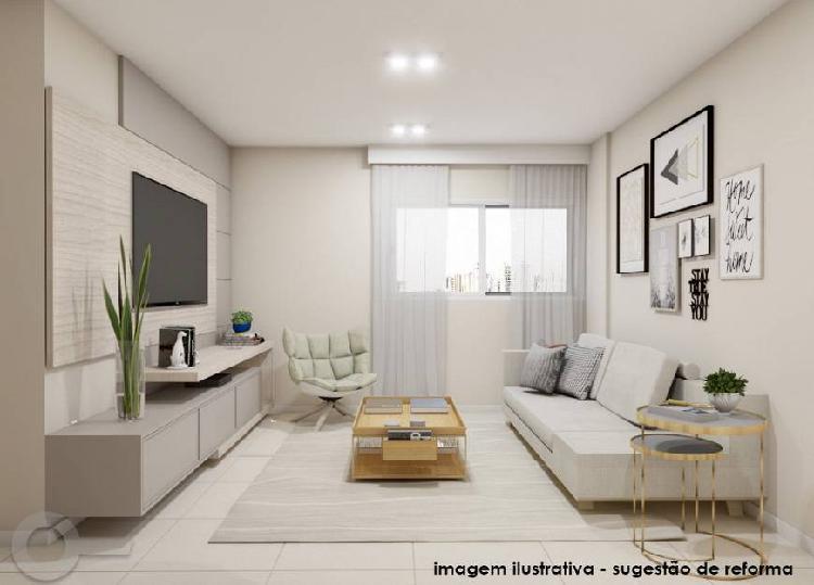 Rua joão moura - 87 m² - 03 dormitórios - 01 vaga