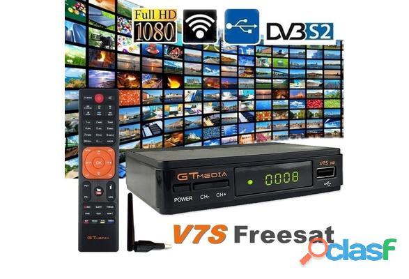 Dvb s2 Hd Receptor Gtmedia V7s Com Usb Wifi Pronta Entrega 1