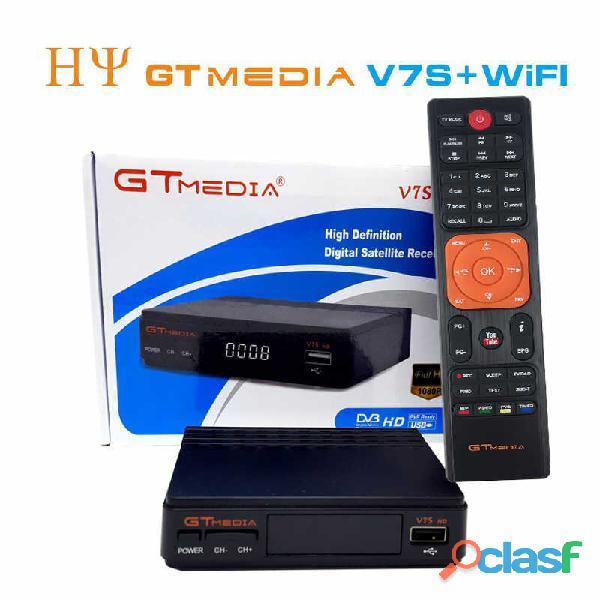 Dvb s2 Hd Receptor Gtmedia V7s Com Usb Wifi Pronta Entrega 2