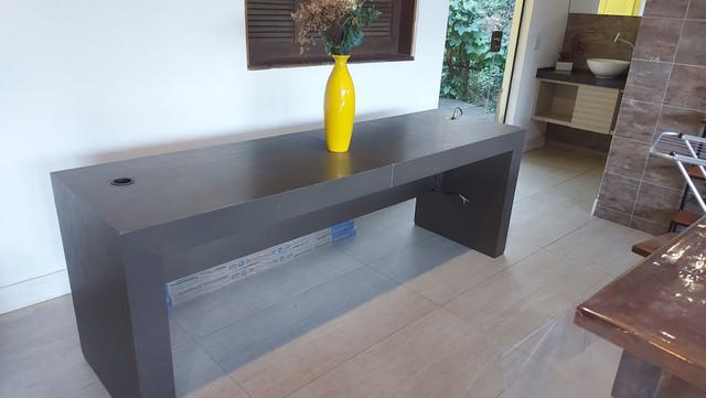 Atenção! mesa de escritório gigante 100% mdf