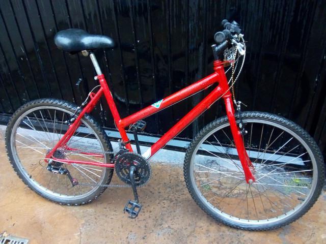 Bicicleta, bike feminina 18 marchas