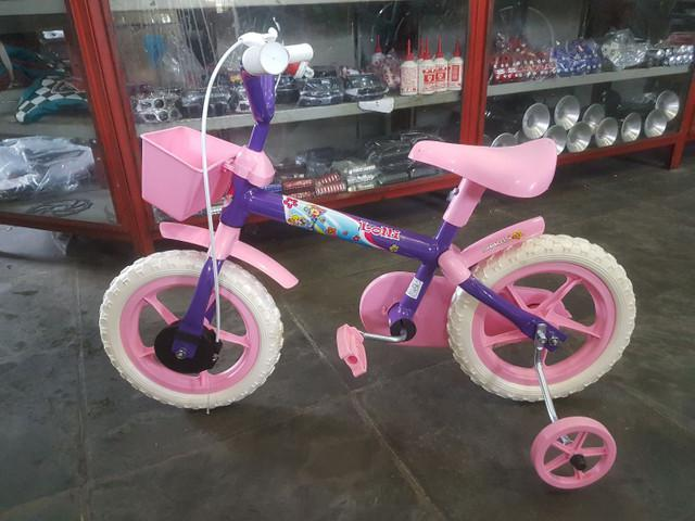 Bicicleta infantil aro 12 roxa (produto novo)