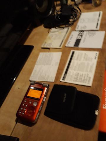 Gravador de áudio profissional tascam gt 1