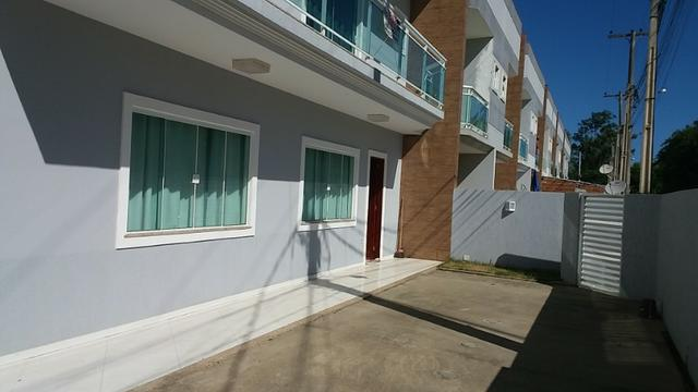 Linda casa duplex em bananeiras - araruama - 100 metros da