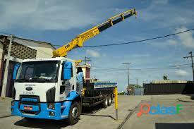 Aluguel de caminhão baú com plataforma em salvador bahia