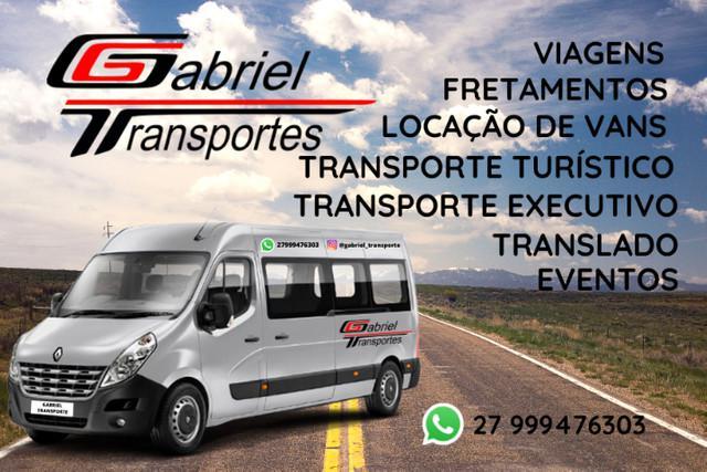Aluguel de vans - gabriel transporte