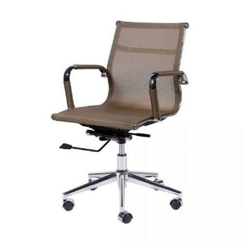 Cadeira de Escrit/u00f3rio Or Design Eames Tela Baixa