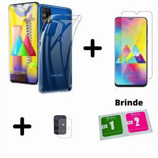 Capinha + Película De Vidro Samsung Galaxy M31