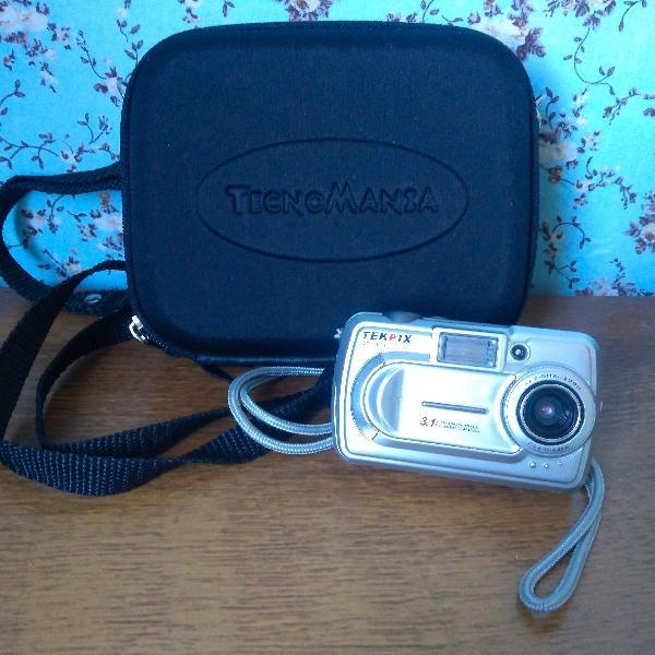 Câmera tekpix dt3000 funcionando e com estojo