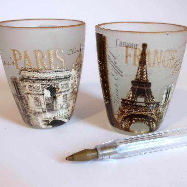 Copinhos souvenirs de viagem paris