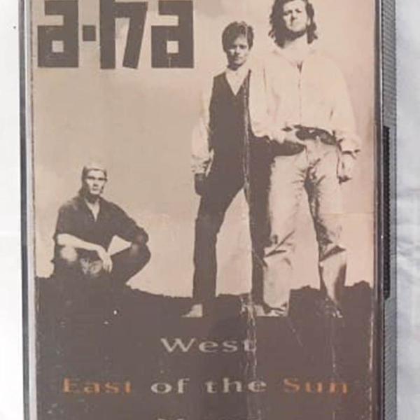 Fita k7 banda a-ha - 1990 - original