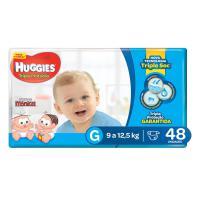 Fralda huggies tripla proteção mega g