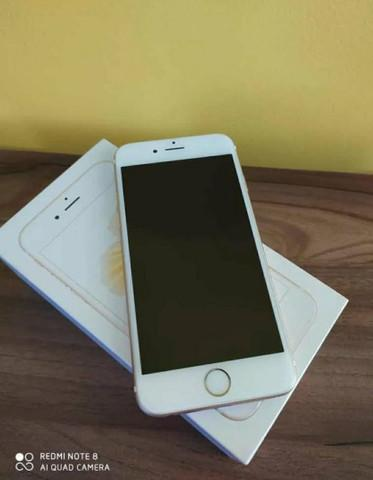 Iphone 6s 32Gb de Memória Gold Completo - Impecável