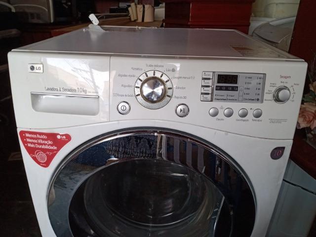 Lavadora e secadora de roupas lg prime 10kg ? frete grátis