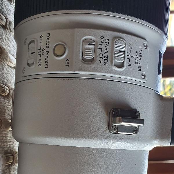 Lente teleobjetiva 600 mm f4 ii canon