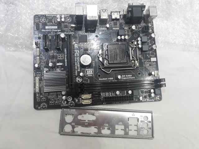 Placa mae socket 1150 aceita core i3 i5 e i7