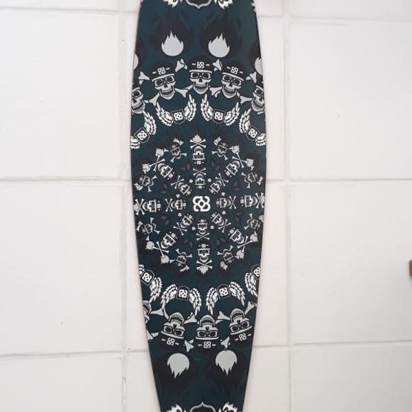 Skate long board 3 es015 - multilaser novo