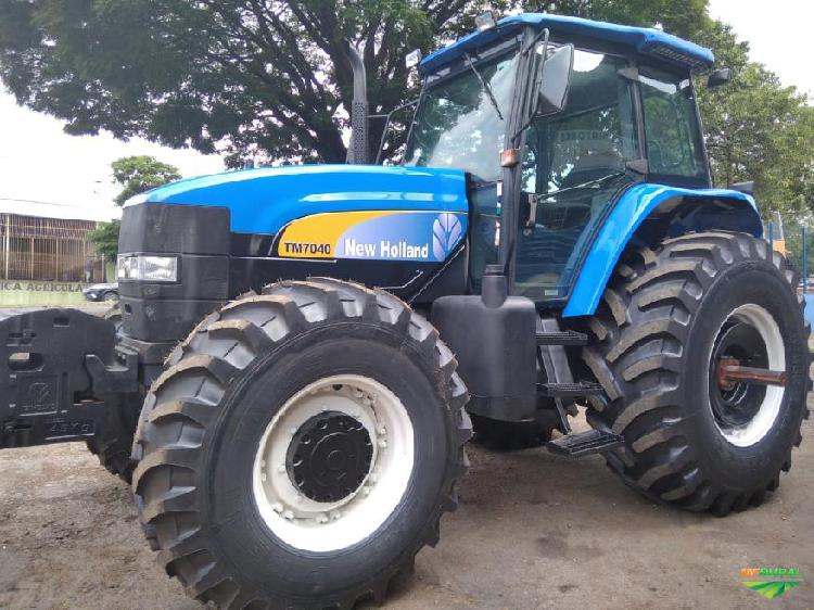 Trator new holland t 7040 4x4 ano 12