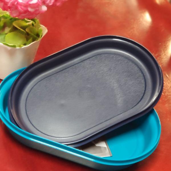 Tupperware travessa oval actualité 2 litros