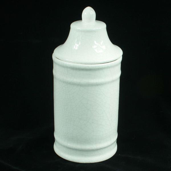 Grande pote de farmácia em louça da cerâmica itaipava