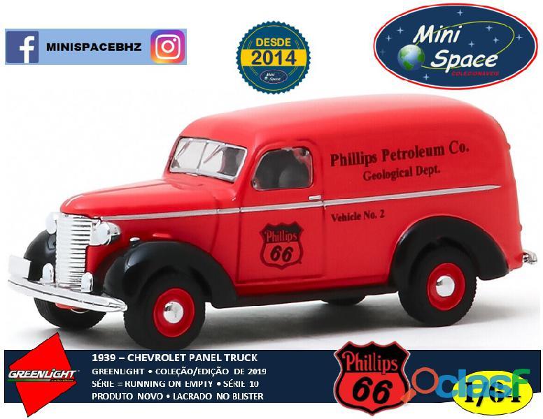 Greenlight 1939 chevrolet panel truck logo phillips 1/64