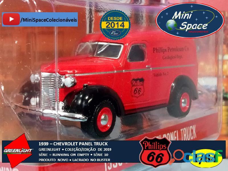 Greenlight 1939 Chevrolet Panel Truck logo Phillips 1/64 3