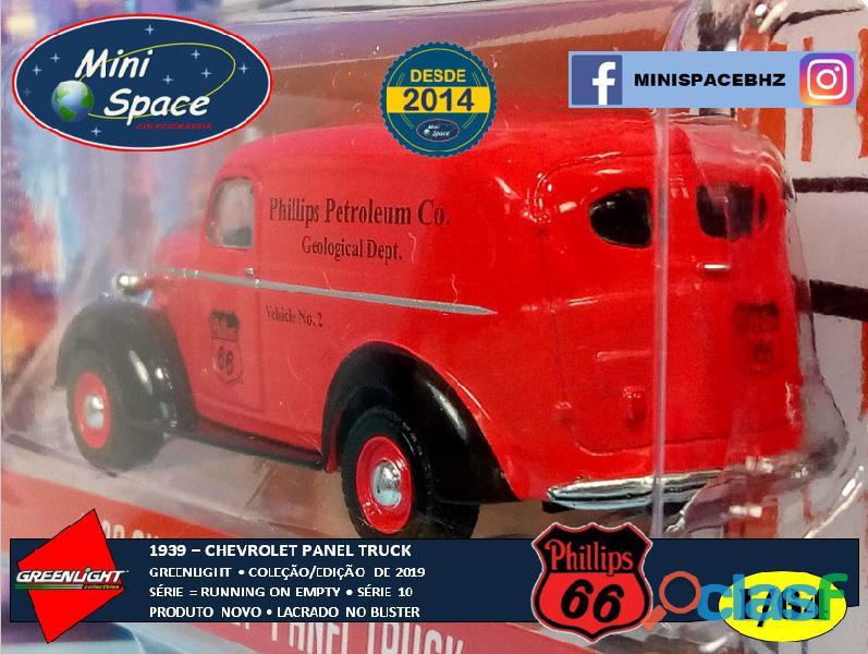 Greenlight 1939 Chevrolet Panel Truck logo Phillips 1/64 4
